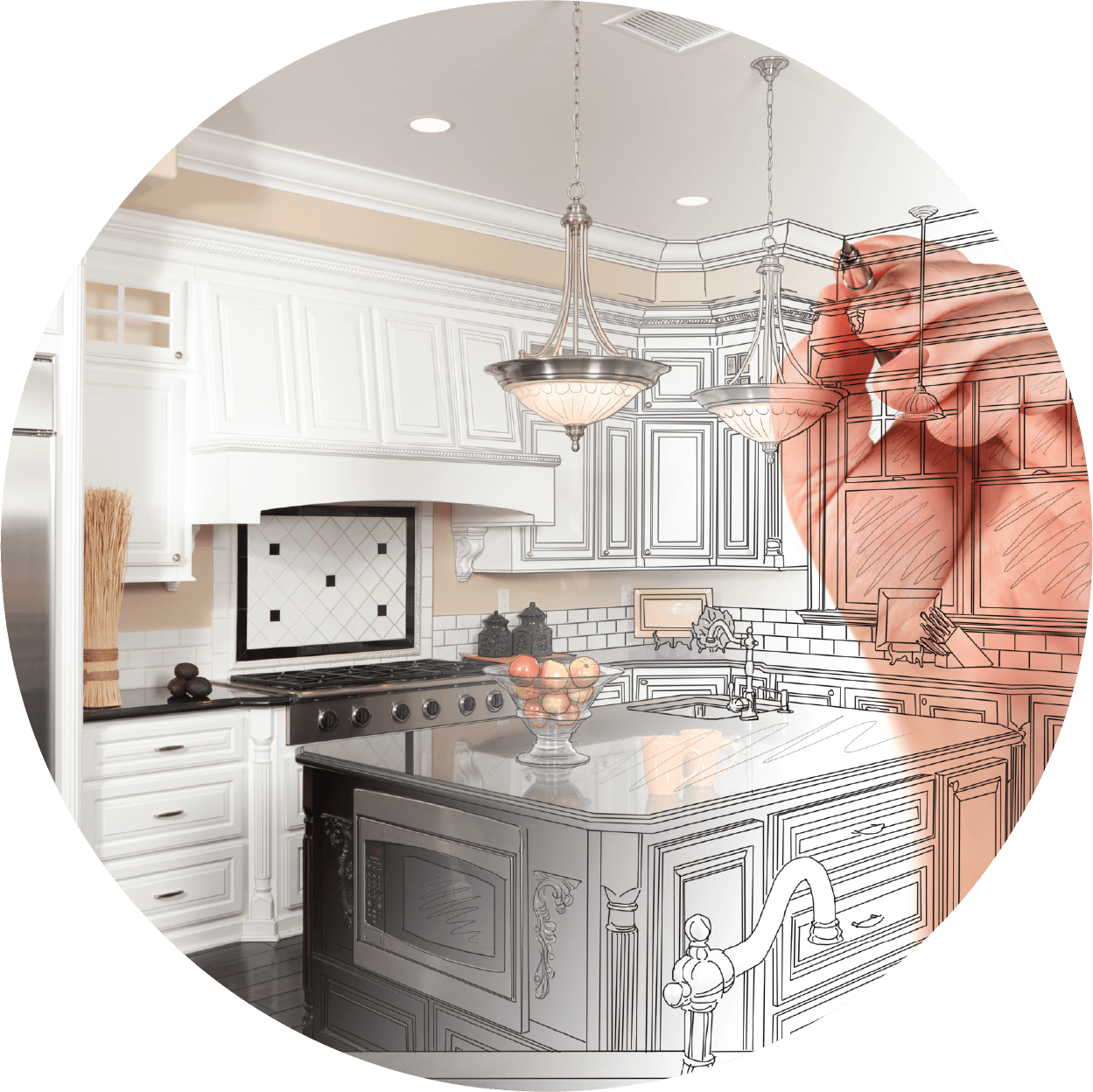 Replace Or Refinish Kitchen Cabinets: Kitchen Cabinets Refinishing, Kitchen Countertops